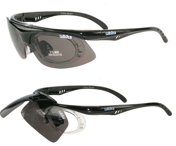 Sports Eyewear that can be glazed with your own prescription.