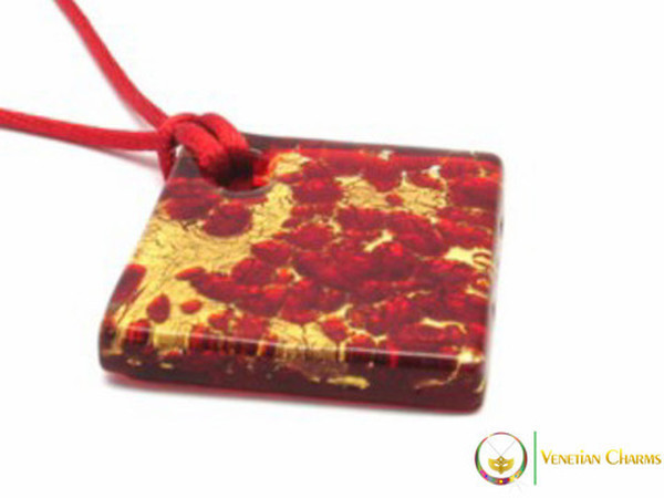 40mm Pendant - Red