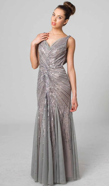RC202 GLITTERY AND CHIC GLAMOUR GOWN DUSTY PINK
