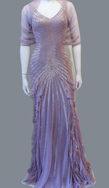 RC45 LUXURIOUS SHIMMERING ELEGANCE GOWN PEARL PINK