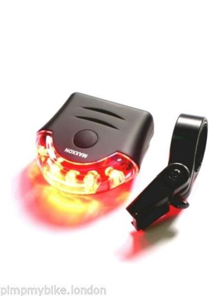 High Visibility LED Wireless Bicycle Brake Rear Waterproof Tail Lights