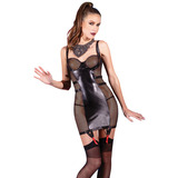 Coquette Wet Look Chemise