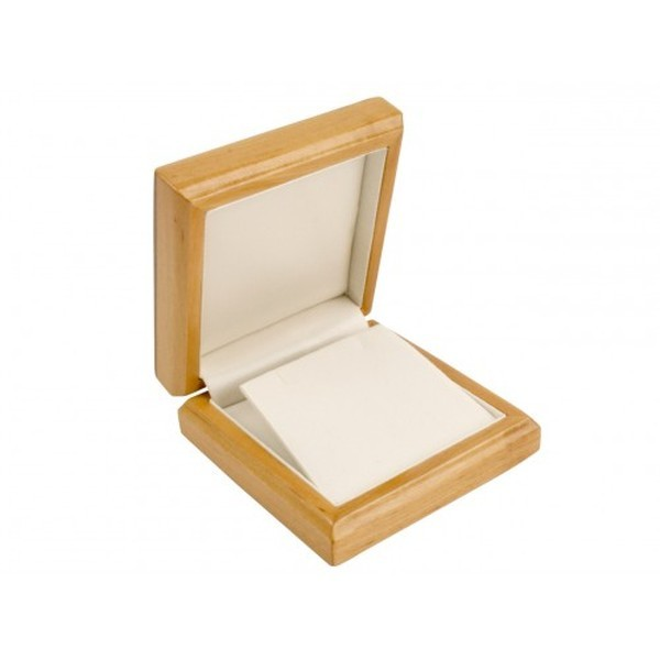 Maple Wooden Gift Box for Pendant or Drop Earrings