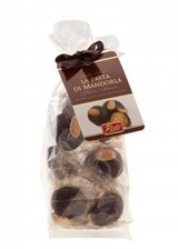 Dark Chocolate Coated Almond Biscuits